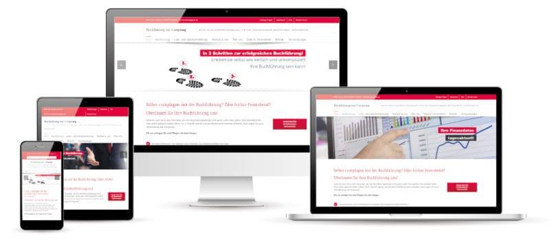 Buchführung mit Vorsprung Website