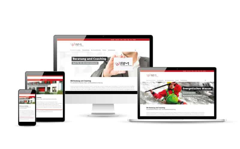 RM Beratung Website