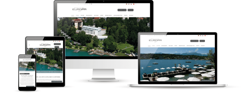 Seehotel Europa Website