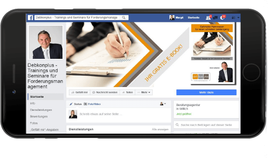 Debkon Plus Forderungsmanagement Facebook