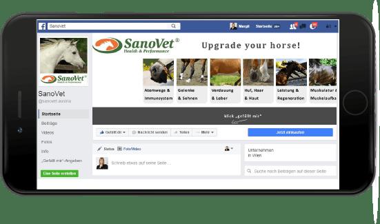 SanoVet Facebook